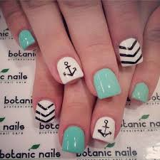 anchor nail designs how you can do it at home pictures