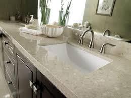 bathrooms design marble console sink bathroom signature hardware