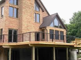 luxury traditional farmhouse ideas with black aluminum porch
