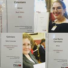 covent garden family law from the professional mediation association awards cyrenians