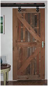 Reclaimed Barn Door Hardware by Sliding Closet Barn Doors