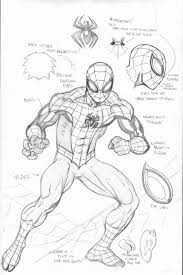 marvel the spectacular spider man coloring pages kids coloring