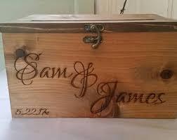 wood card box etsy