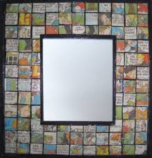 Repurpose Upcycle - the art of up cycling diy mirror frame ideas you can make with