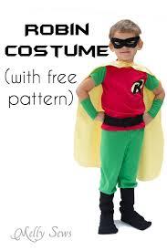 Infant Robin Costume Batman Robin Costume Diy Free Pants Pattern Robin