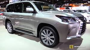 lexus lx wallpaper 2016 lexus lx570 exterior and interior walkaround 2016 chicago