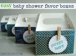 easy baby shower favors easy baby shower favor boxes for a baby shower