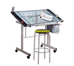 Drafting Table Glass Glass Drafting Table Classic Design