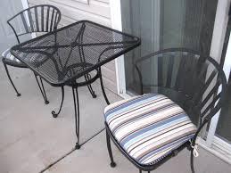 hampton bay brown steel outdoor dining chairs patio tearing metal