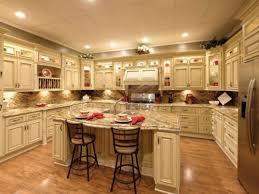 white kitchen cabinets with antique brown granite kitchen cabinets with antiquing glaze in classic kitchen designs