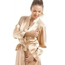 robe de chambre femme satin ensemble chemise de nuit et robe de chambre de luxe pour femme satin