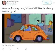 Drink Driving Memes - wayne rooney mocked with herbie internet memes after drink driving