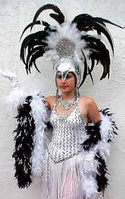 Vegas Showgirl Halloween Costume Vegas Showgirl 3rd 15th