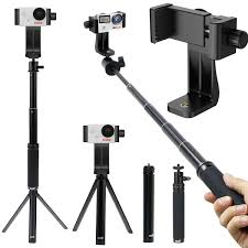 Monopod Hp Universal Holder Selfie Stick Monopod Tripod Stand For Gopro Akaso