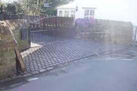natural stone driveways u2013 david smith excavations