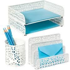 Teal Desk Accessories Papertastebuds Archive Strong Feelings For The White Desk