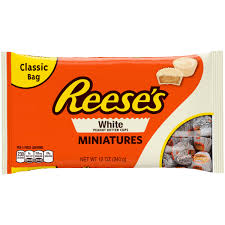 reese peanut butter cup halloween costume reese u0027s white peanut butter cups miniatures 12 oz walmart com