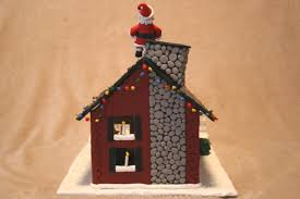 make an advent calendar house from polymer clay chica and jo
