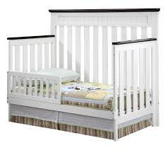 Convertible Crib Safety Rail by Delta Children Chalet Toddler Guard Rail White Ambiance Toys