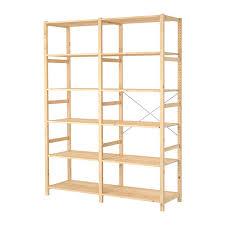 ivar ikea ivar 2 sections shelves pine 174x50x226 cm ikea