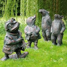 animal garden ornaments deer cat statues uk free delivery