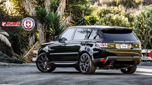 black land rover with black rims 2014 range rover sport autobiography on hre p93l wheels and more