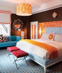 Color Love  An Homage To Orange Jonathan Adler Bedrooms And - Jonathan adler bedroom