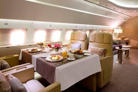 Emirates Airbus A380 Interior Business Class A Look In Emirates New Private Jet With Private Suites Shower
