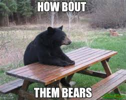 Bears Meme - how bout them bears meme bad luck bear 17126 memeshappen