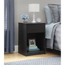 Cheap Black Nightstand Awesome Bedroom Nightstands Cheap Black Modern Styles Ideas Tall