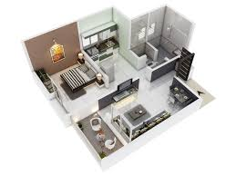 1 bhk floor plan vedant a resedential project by excel homes