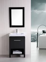 design element bathroom vanities york 24 single sink vanity set in espresso design element