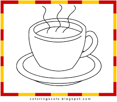 Coloring Pages Printable For Kids Cup Coloring Pages For Kids Cup Coloring Page