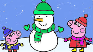 peppa pig christmas coloring book coloring pages kids fun for