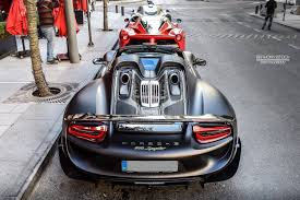 porsche 918 exterior photo of the day holy trinity from lebanon gtspirit