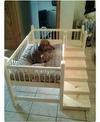 dog stairs for bed dog stairs for bed raised pet stairs bed bath