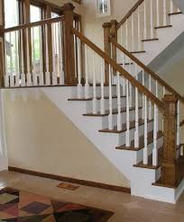 Landing Handrail Height Two Newel Landing Staircases Pinterest Staircases Wooden
