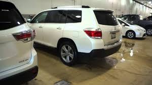 toyota awd 2013 2014 vs 2013 toyota highlander xle awd limited exterior view