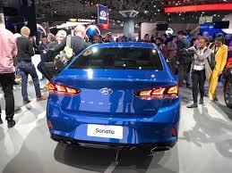 2018 hyundai sonata sedan car reveal at 2017 new york