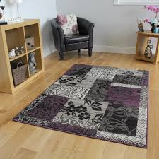 Gray And Purple Area Rug Funky Purple Area Rugs Over 8 Unique Design Styles Take A Look