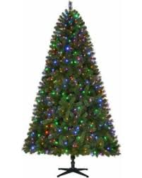 sweet deal on 7 5 ft pre lit led wesley spruce set