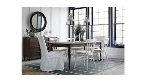 Slipcovered Dining Chair Slip White Slipcovered Dining Chair In Dining Chairs Reviews