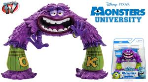 monsters university scare students art action figure toy review