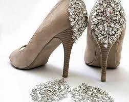 wedding shoes rhinestones wedding shoes etsy