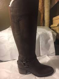 s knee boots size 9 size 9 marc fisher kacee black leather knee high boots