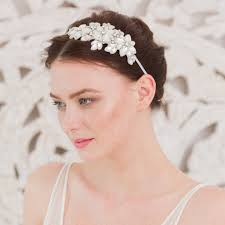 wedding hair bands statement wedding headband gold laurie britten