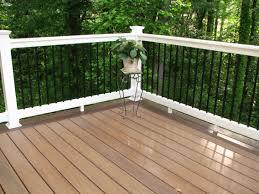 decking deck railing system plastic deck railing aluminum