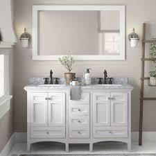 60 inch white kitchen base cabinet luz 60 sink bathroom vanity set