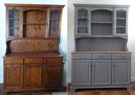 Staining Kitchen Cabinets Darker Before And After Before And After Dresser Painted In Little Greene Dark Lead Over