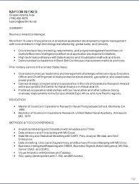 Business Intelligence Analyst Resume Program Analyst Resume Resume Ideas